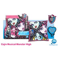 Cojin musical monster high - 30586004