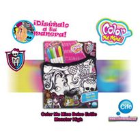 Color mi mine estilo monster high