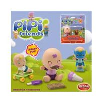Pipi friends single pack + accesorios