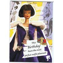 Tarjeta felicitacion barbie - 24588031