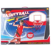 Canasta de baloncesto con pelota- altura - 98219390
