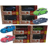Mini coches en display