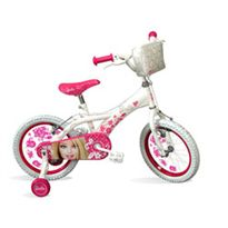 "Bicicleta 16"" barbie diamantes"