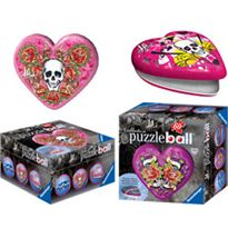 60 puzzleball estilo tatto corazon - 26984550