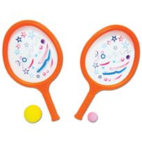 Raquetas blandas + pelota pequeña + pelota grande - 89836457