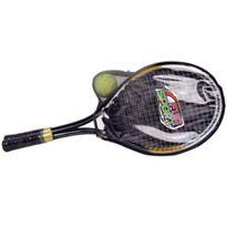 2 raquetas metalicas + 2 pelotas tennis - 94894520