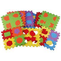 Puzzle foam 36 pz. 16,5x16,5 formas - 99850500(2)