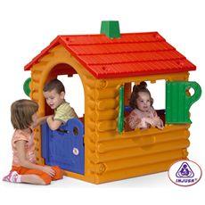 """Casa de troncos """"the hut"""""""