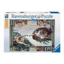 Puzzle 5000 la creacion de adan