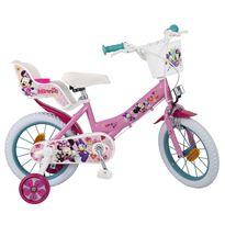"""Bicicleta minnie 14"""" niña"""