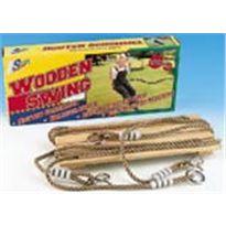 Columpio de madera 4 piezas - 99508741