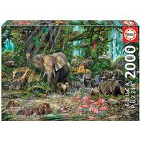 Puzzle 2000 jungla africana - 04016013