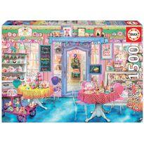 Puzzle 1500 la tienda de dulces - 04016769