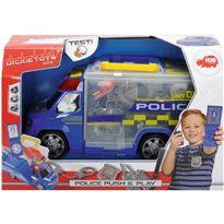 Coche policia maletin con accesorios - 33316005