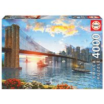 Puzzle 4000 puente de brooklyn