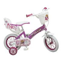 Bicicleta 12 paw patrol rosa
