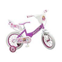 Bicicleta 14 paw patrol rosa