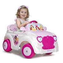 Coche disney princess car 6v