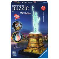 Puzzle 3d estatua de la libertad con luz - 26912596