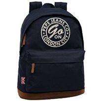 Laptop backpack 42 cm navy61220 pepe jeans dorian - 75826902