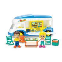 Caravana infantil con figuras y acc - 92322004