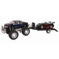 4x4 con remolque y vehículo 60cm fricción - 89815093