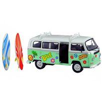 Caravana surfera wolksvagen 32 cm con stickers - 91076000(1)