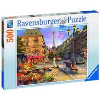 Puzzle 500 de paseo por parís