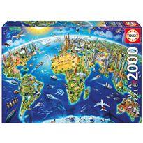 Puzzle 2000 símbolos del mundo - 04017129(1)
