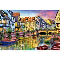 Puzzle 4000 canal de colmar francia