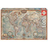 """Puzzle 1000 el mundo, mapa político """"miniature"""""""