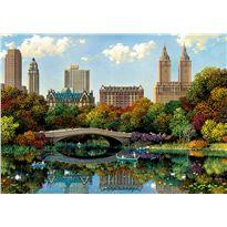 Puzzle 8000 central park bow bridge