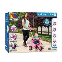 Triciclo con bandeja y palo rosa - 26516218