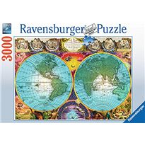 Puzzle 3000 pz globo antiguo
