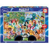 Puzzle 1000 el maravilloso mundo de disney ii