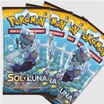 Sobre cartas pokemon sol y luna (precio unidad)