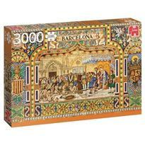 Puzzle 3000 azulejos de barcelona- jumbo