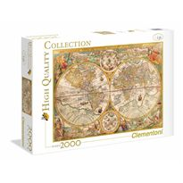 Puzzle 2000 mapa antiguo - 06632557