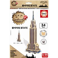 Puzzle 3d madera empire state - 04017306