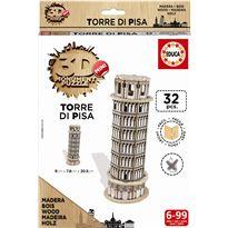 Puzzle 3d madera torre de pisa - 04017305