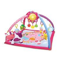 Manta y gimnasio cantarin rosa - 37346457
