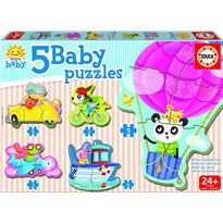 Puzzle animales al volante - 04017141