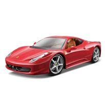 1/24 ferrari race&play 458 italia color aleatorio - 34026003