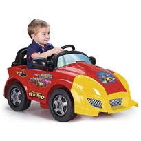 Coche mickey & the roadster 6 v.