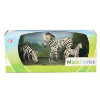 Pack animales 3 cebras 15/9/13 cm. - 87871455