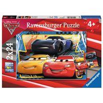 Puzzle 2 x 24 cars 3