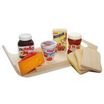 Tabla desayuno en madera - 52000921