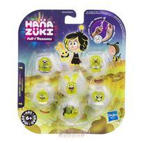 Hanazuki pack 6 tesoros color amarillo
