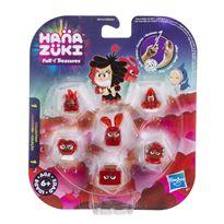 Hanazuki pack 6 tesoros color rojo
