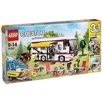 Caravana de vacaciones lego creator